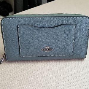 Coach zipper wallet
